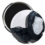 Lacey Black Scarf 2.25