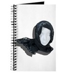 Lacey Black Scarf Journal