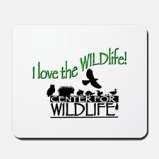 I love the Wildlife logo.png Mousepad