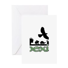 cfw coexist art.png Greeting Card