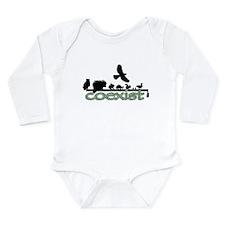 cfw coexist art.png Long Sleeve Infant Bodysuit