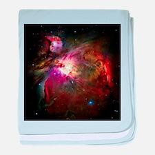 Orion Nebula (High Res) baby blanket