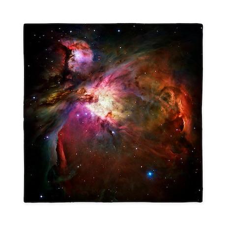 Orion Nebula (High Res) Queen Duvet