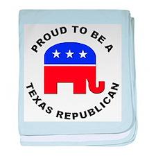 Texas Republican Pride baby blanket