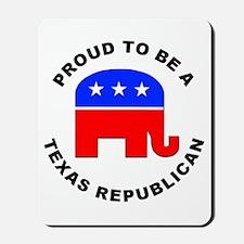 Texas Republican Pride Mousepad