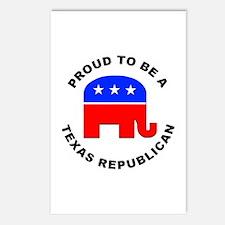 Texas Republican Pride Postcards (Package of 8)