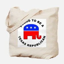 Texas Republican Pride Tote Bag