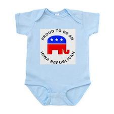 Iowa Republican Pride Infant Bodysuit