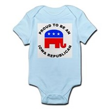 Iowa Republican Pride Onesie