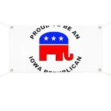 Iowa Republican Pride Banner