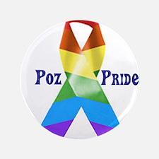 """Poz + Proud 3.5"""" Button"""