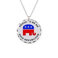 Ohio Republican Pride Necklace