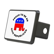Ohio Republican Pride Hitch Cover