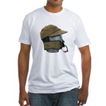 Wool Hat Face Guard Fitted T-Shirt