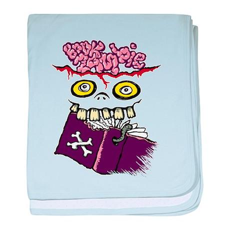 Book Zombie baby blanket