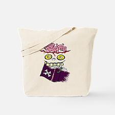 Book Zombie Tote Bag