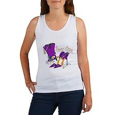 Party Time purple high heels Women's Tank Top