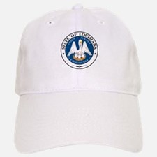 Louisiana State Seal Baseball Baseball Cap