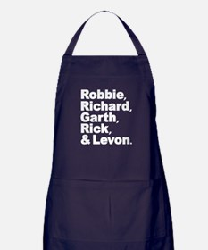 The Band Names Tribute Apron (dark)