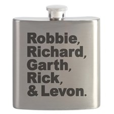 The Band Names Tribute Flask