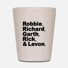 The Band Names Tribute Shot Glass