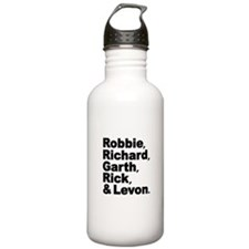 The Band Names Tribute Water Bottle