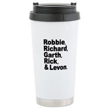 The Band Names Tribute Travel Mug