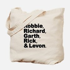The Band Names Tribute Tote Bag