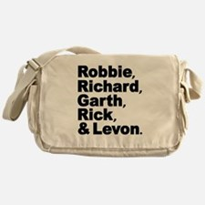 The Band Names Tribute Messenger Bag