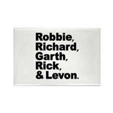 The Band Names Tribute Rectangle Magnet