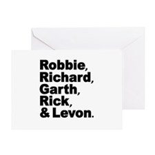The Band Names Tribute Greeting Card