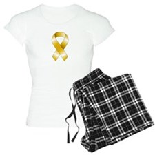 Gold Ribbon Pajamas