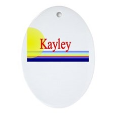Kayley Oval Ornament