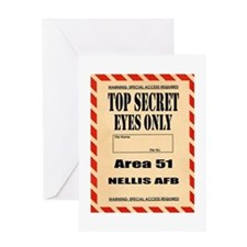 AREA51.png Greeting Card