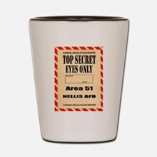 AREA51.png Shot Glass
