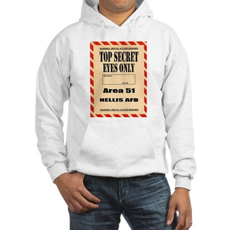 AREA51.png Hooded Sweatshirt