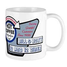 Bill  Bobs 12 and 12 Diner Mugs
