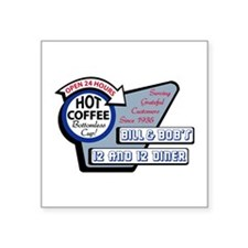 Bill Bobs 12 And 12 Diner Sticker