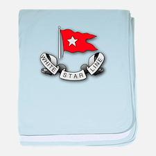 White Star Line baby blanket