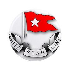 "White Star Line 3.5"" Button"