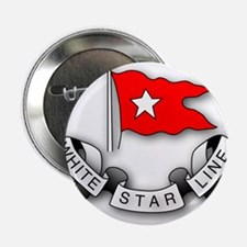 "White Star Line 2.25"" Button"
