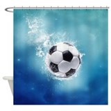 Soccer Shower Curtains