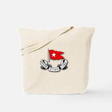 White Star Vlogger Logo Tote Bag