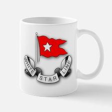 White Star Vlogger Logo Mug