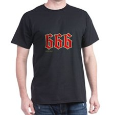 Red n Gold 666 T-Shirt