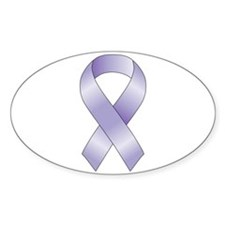 Lavender/Periwinkle Ribbon Decal