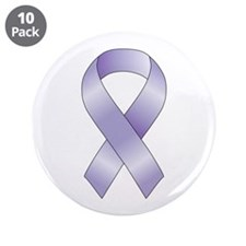 "Lavender/Periwinkle Ribbon 3.5"" Button (10 pack)"