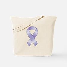 Lavender/Periwinkle Ribbon Tote Bag