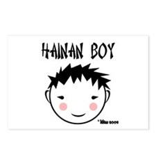 China Boy Postcards (Package of 8)