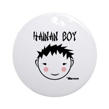 China Boy Ornament (Round)